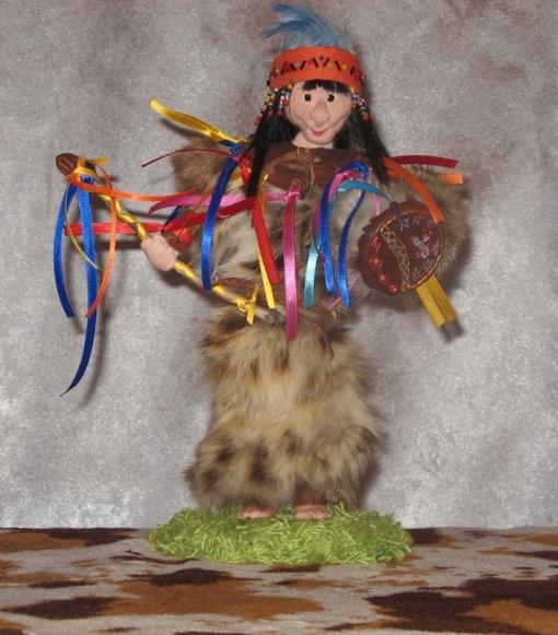 Своими руками костюм-шаман 39